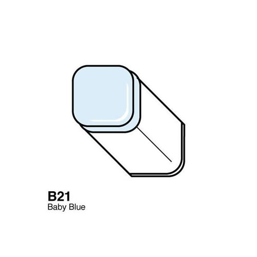 Copic Typ B - 21 Baby Blue