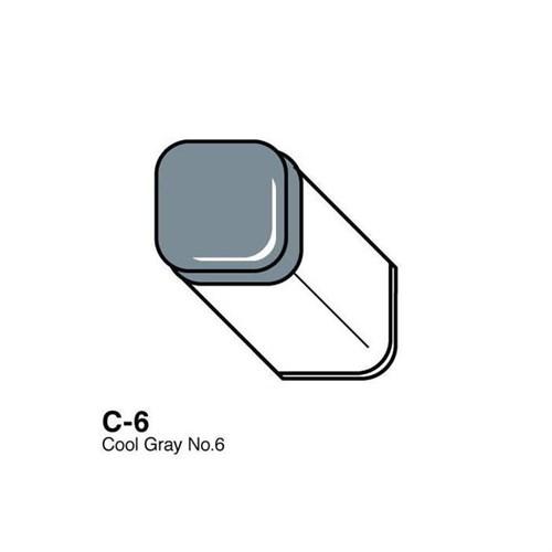Copic Typ C - 6 Cool Gray