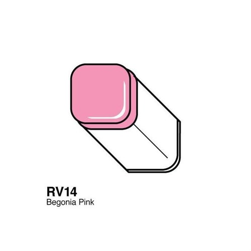 Copic Typ Rv - 14 Begonia Pink