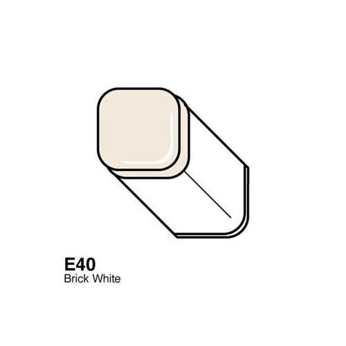 Copic Typ E - 40 Brick White