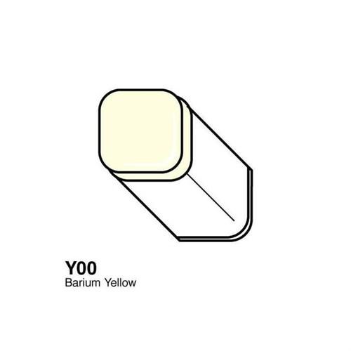 Copic Typ Y - 00 Barium Yellow