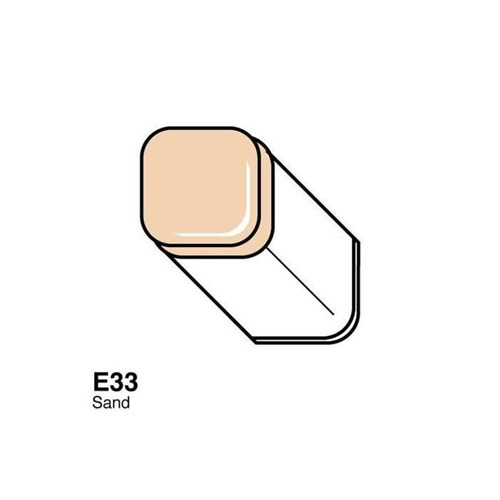 Copic Typ E - 33 Sand