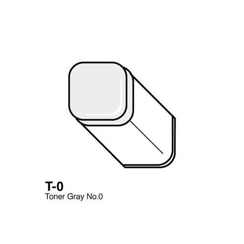 Copic Typ T - 0 Toner Gray