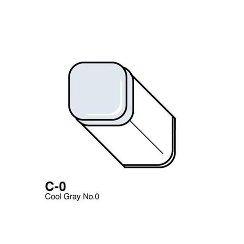 Copic Typ C - 0 Cool Gray