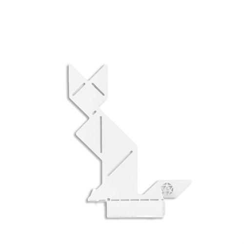Ersa Mobilya Cevher Kedisi Notluk Oturan Beyaz