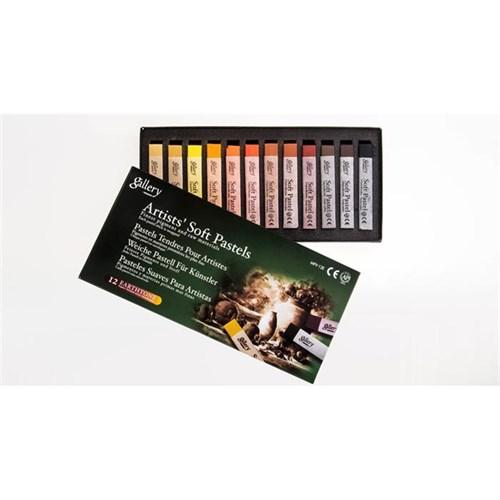 Mungyo Toz Pastel 12Li Set Toprak Renkler