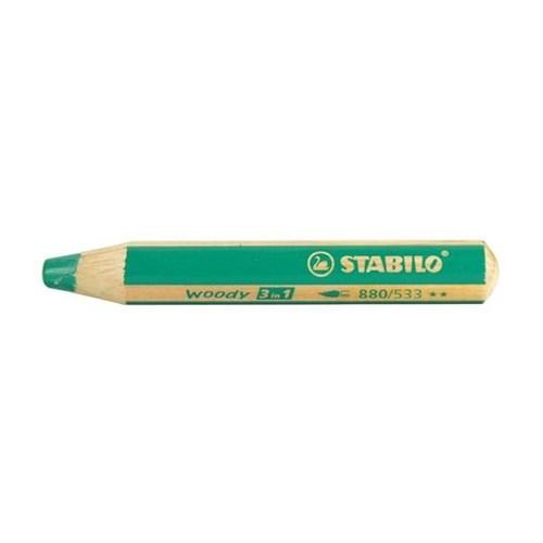 Stabilo Woody 3in1 - Yeşil