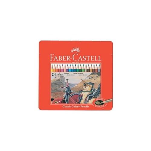 Faber-Castell 115845 Kuruboya Kalemi 24 Renk