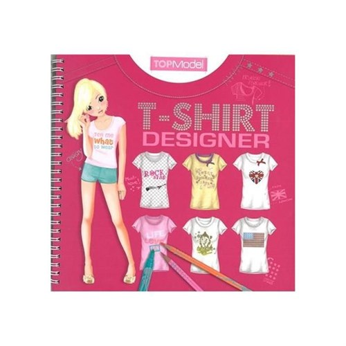 Top Model T-Shirt Design Defteri 7874