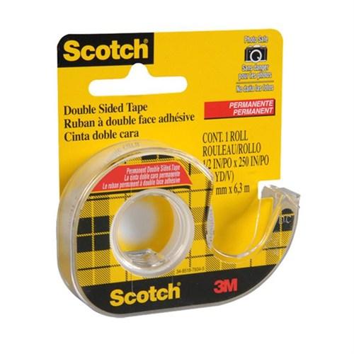 3M Scotch 136D Çift Taraflı Bant Kesicili