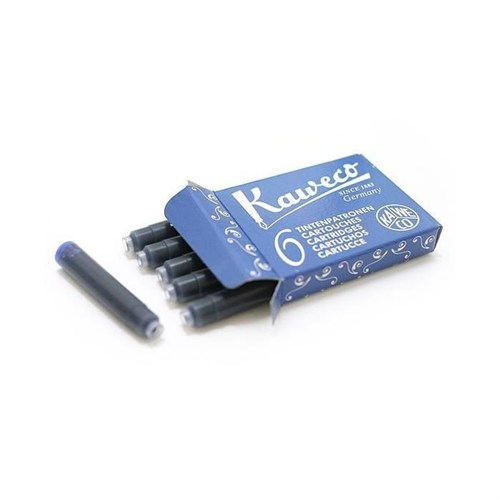 Kaweco 256 Kartuş 6'Lı Mavi