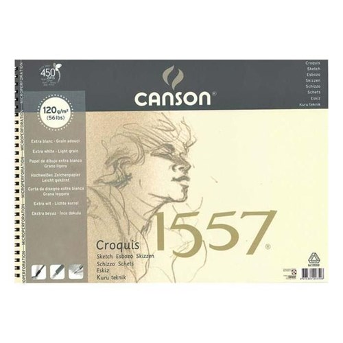 Canson A3 120Gr 120619
