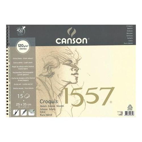 Canson 25X35 Resim Defteri 120Gr 15Sayfa 120350