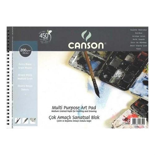 Canson 35X50 Resim Defteri 200Gr 15Sayfa 200500