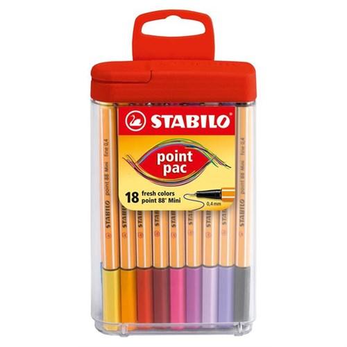 Stabilo Point 88 Mini Pac