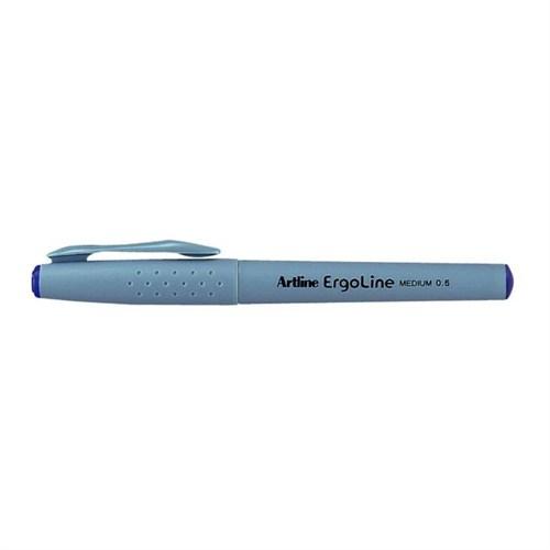 Artline Erg-3600 0.6 Mavi İmza Kalemi