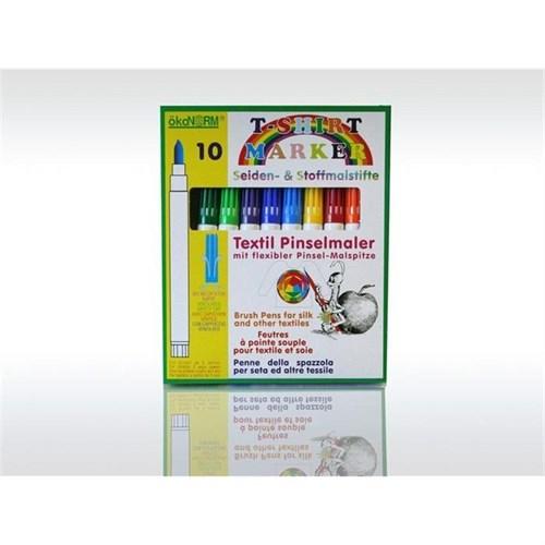 Ökonorm Kumaş Boyama Kalem Seti (10 Renk)