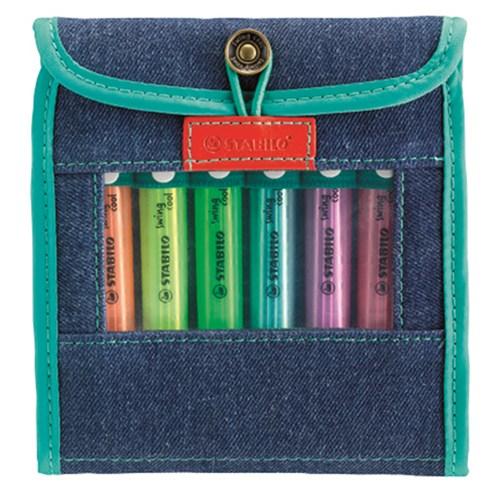 Stabilo Swing Cool Jeans 6'Lı Set