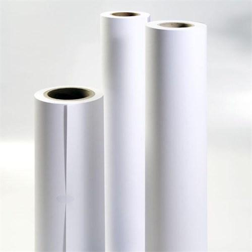 Sistem 620X50 Plotter Kağıdı A1 Ebatlarında 1. Hamur 80 Gr Rulo Kağıt