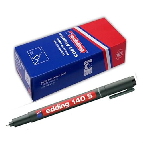 Edding 140S Permanent Kalem Cam Cd Asetat Mavi 10 Lu Paket