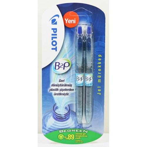Pilot B2p Begreen - Mavi 2'li Blister B2p-7-M-Bg-Bl2
