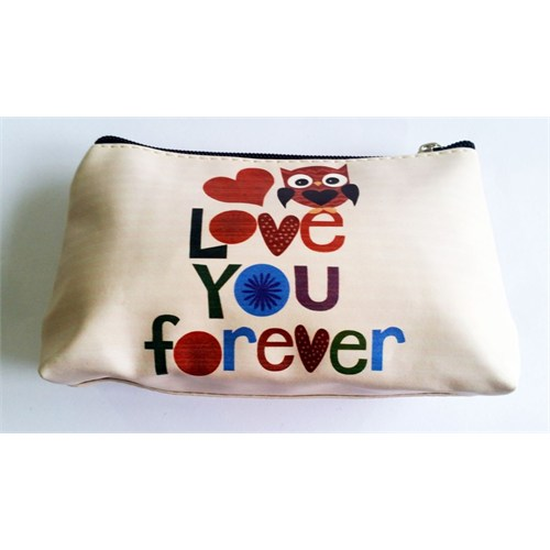 Köstebek Love You Forever Desenli Kalem Kutusu