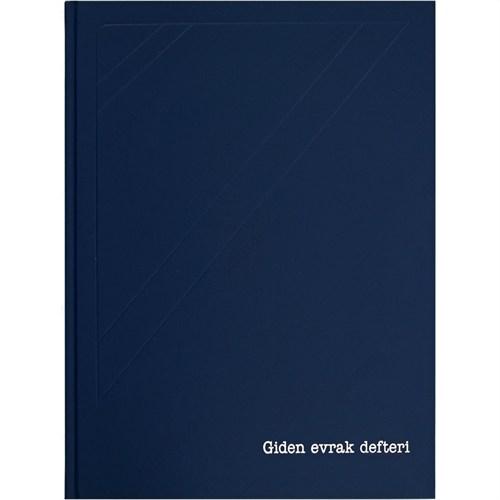 Marka Giden Evrak Defteri 72 Yaprak 1. Hamur 24 X 34