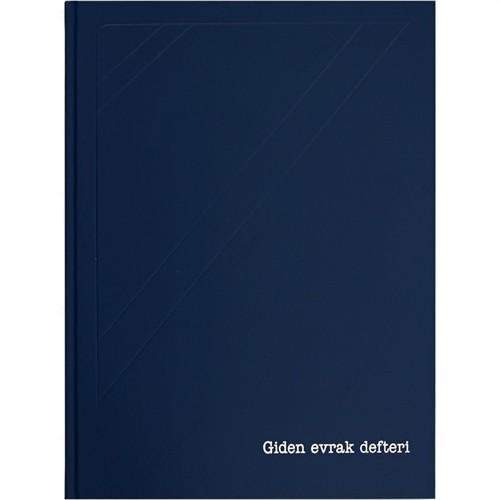 Marka Giden Evrak Defteri 144 Yaprak 1. Hamur 24 X 34