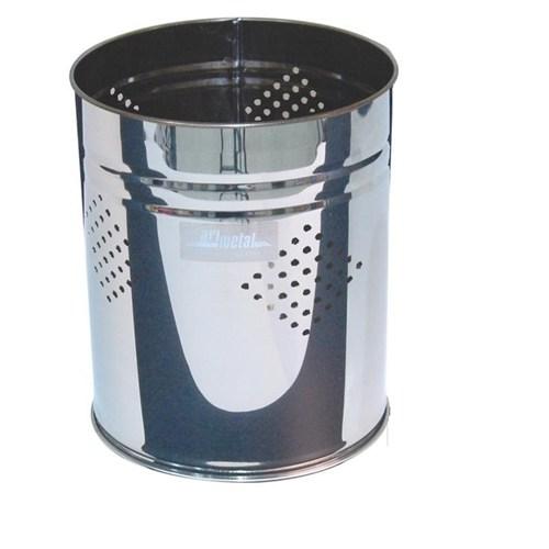 Mb Star Ofis Çöp Kovası Paslanmaz Delikli