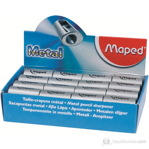 Maped Kalemtraş Metal Satellite Tek Delikli