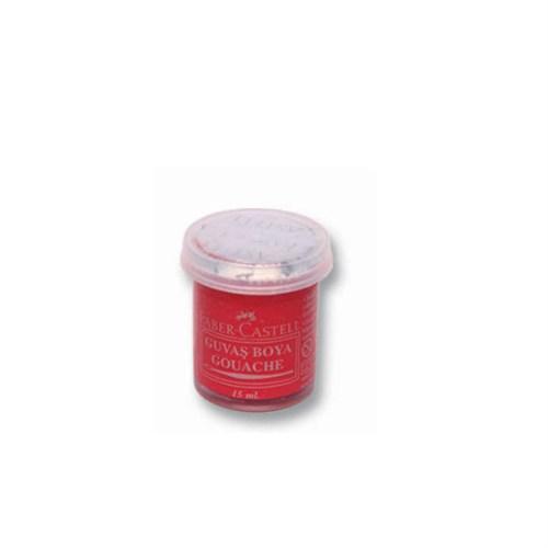 Faber-Castell Guaj Boya Tek Renk Kırmızı 121032