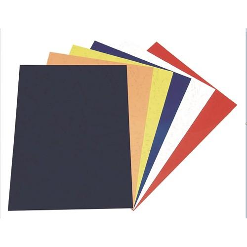 Sarf A4 Karton (deri Desenli) Renkli Cilt Kapakları Siyah - 15201040