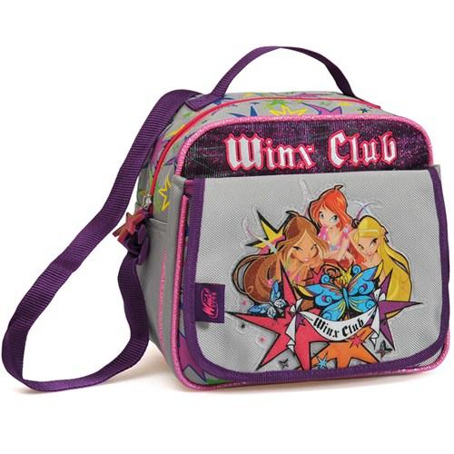 Winx Beslenme Çanta Club Silver Tattoo 24 x 22 x 15 cm