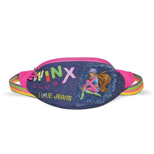 Winx Denim Bel Çanta I Love Jeans Fashion 25 x 14 x 8 cm