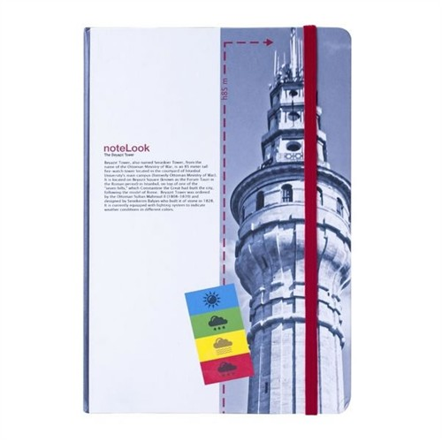 Scrikks Towers Of İstanbul Beyazıt Kulesi A6 Çizgili