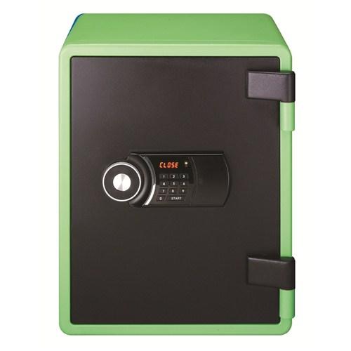 NamiSafe NPS 031 G Şifreli Çelik Kasa (Yeşil)