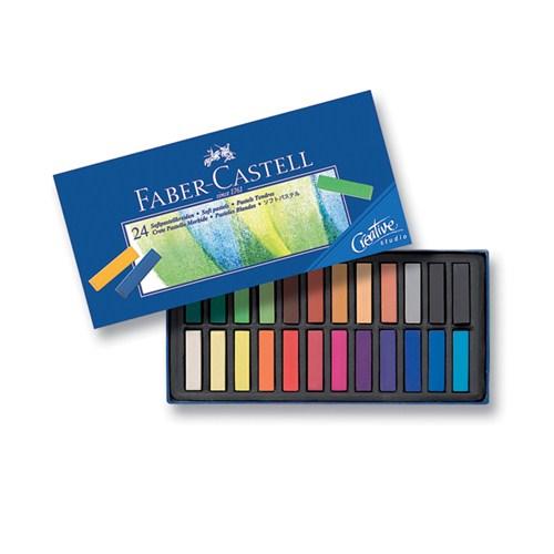 Creative Studio Mini Toz Pastel Boya (Soft) 24 Renk Yarım Boy (5175128224)