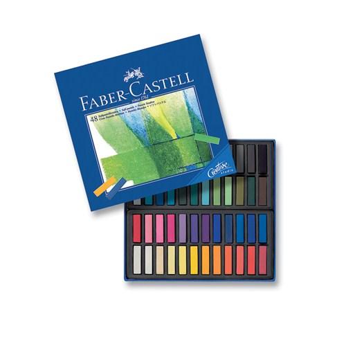 Creative Studio Mini Toz Pastel Boya (Soft) 48 Renk Yarım Boy (5175128248