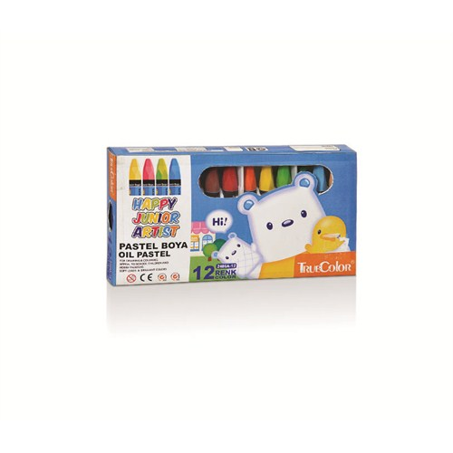 True Color Pastel Boya (12'li)