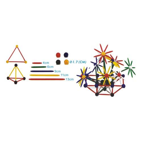Try Geometrik Cisim Modelleme Seti 330 Parça