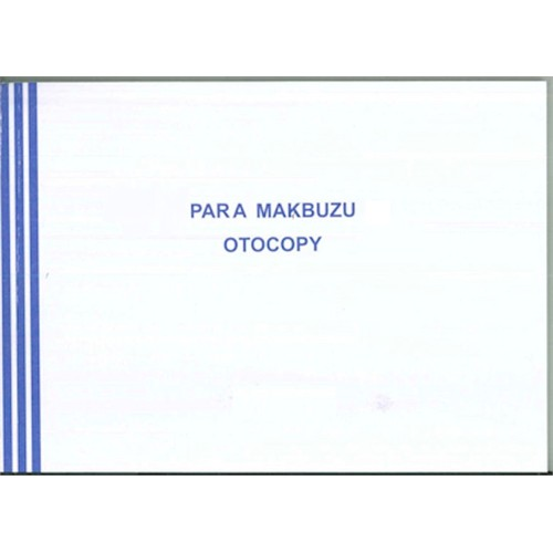 Marka Para Makbuzu 12 Adet 2 Nüsha Otokopili