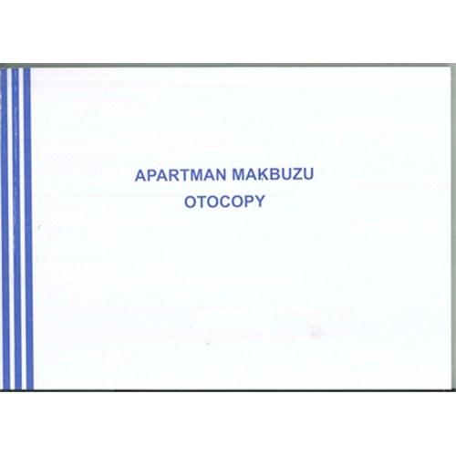 Marka Apartman Makbuzu 12 Adet 2 Nüsha Otokopili