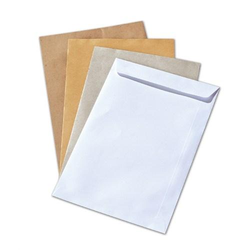 Marka A4 Beyaz Torba Zarf 24X32 Cm 100 Gr. Silikonlu 250 Adet