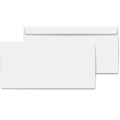 Marka Diplomat Zarf 110 Gr. Silikonlu Beyaz Para Zarfı 500 Adet 10,5X24 Cm
