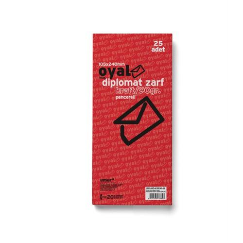 Oyal Diplomt Zarf Pncr Krft90gr-Slk-25Li