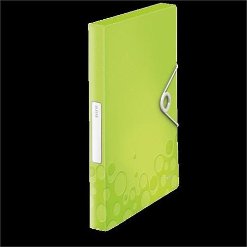 Leitz Active Wow Kalın Lastikli Dosya Metalik Yeşil 46290064