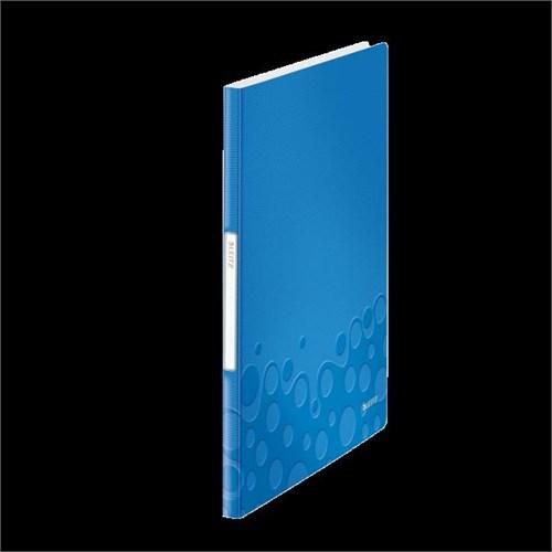 Leitz Active Wow Sunum Dosyası 20 Poşetli Metalik Mavi 46310036