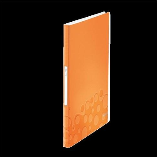 Leitz Active Wow Sunum Dosyası 40 Poşetli Metalik Turuncu 46320044