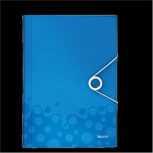 Leitz Active Wow Proje Dosyası Metalik Mavi 45890036