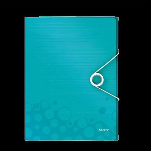Leitz Active Wow Çok İşlevli Dosya Metalik Buz Mavisi 46360051